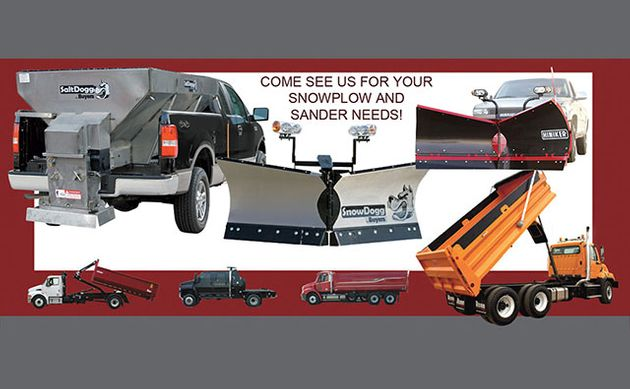Come see us for your snowplow and sander needs! | Snow Equipment